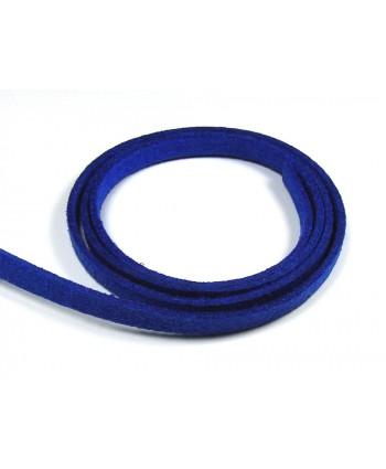 Suede Cord 5mm -  Royal Blue