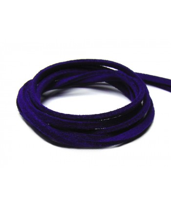 Suede Cord 2.5mm - Royal Blue