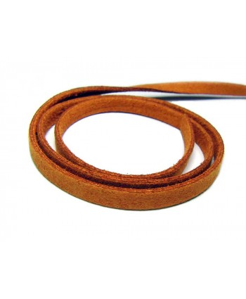 Suede Cord 5mm -  Camel Brown