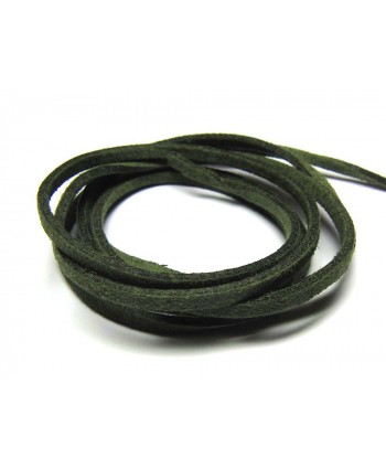 Suede Cord 2.5mm - Olive Green