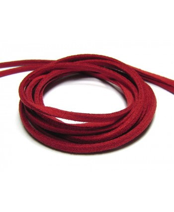 Suede Cord 2.5mm - Red