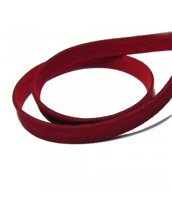 Suede Cord 10mm -  Red