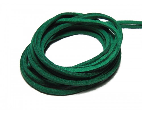 Suede Cord 2.5mm - Green