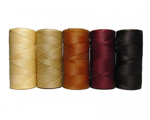 Waxed Polyester Set of 5 Colors