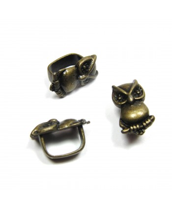 Owl Spacer Slider 18mm x 10mm