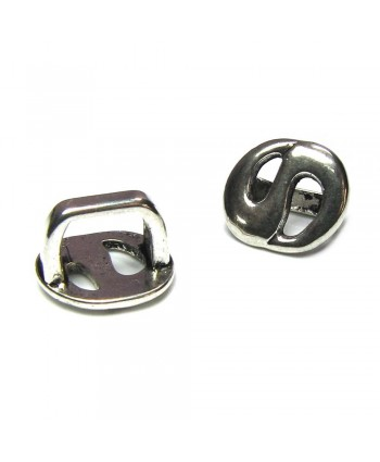 Swirl Spacer Slider 16mm x 15mm