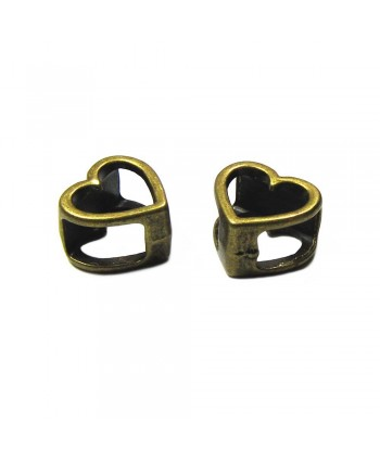 Heart Spacer Slider 15mm