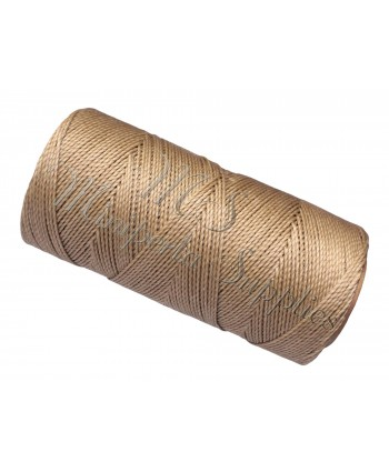 Waxed Cord Beige - 15 Meters
