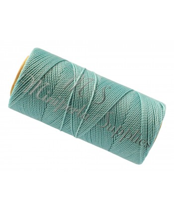 Waxed Cord Pale Turquoise - 15 Meters
