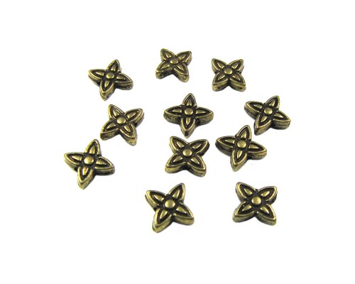Flower Metal Spacer 6mm x 6.5mm