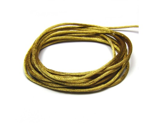 Rattail Cord 2mm - Golden Brown