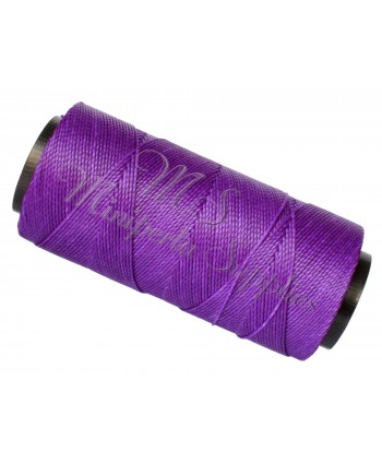 Waxed Cord Amethyst - 15 Meters